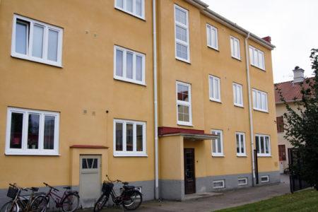 Fönsterbyte på bostadrättsförening i Katrineholm till PVC Fönster