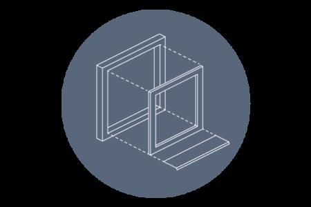 Montera PVC Fönster