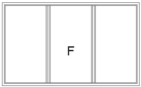 PVC Fönster Fast 3