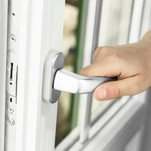 Extra inbrottsäkert fönster med 9 låspunkter