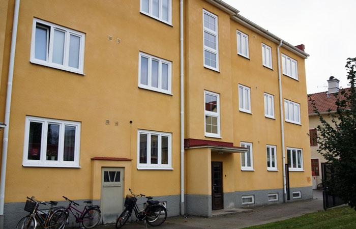 Fönsterbyte på Bostadsrsättsförening i Katrineholm