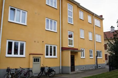 Fönsterbyte BRF i Katrineholm till PVC Fönster