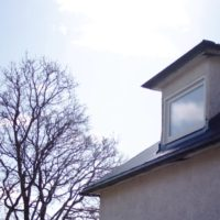 Fönster i takkupa - Kramfors Östby