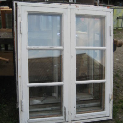 Återbrukade kopplade fönster